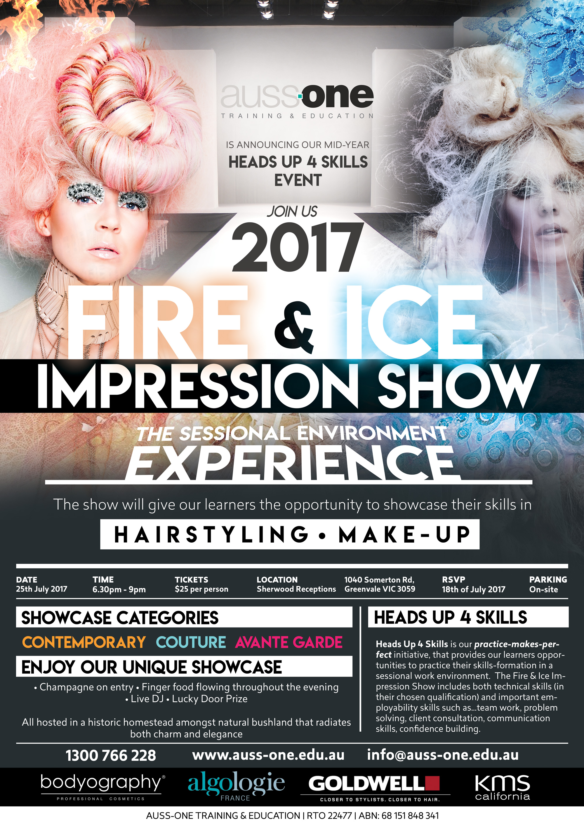 2017 Fire & Ice Impression Show Poster