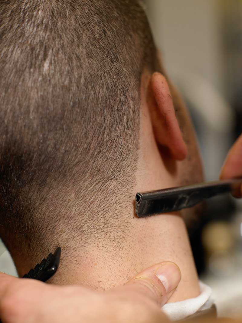 barbering tips texturising
